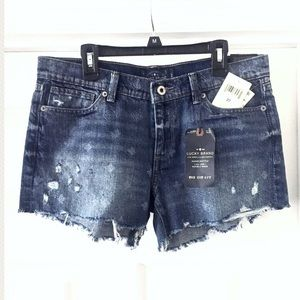 Lucky Brand The Cut Off Jean Shorts